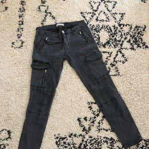 Zara cargo skinnies